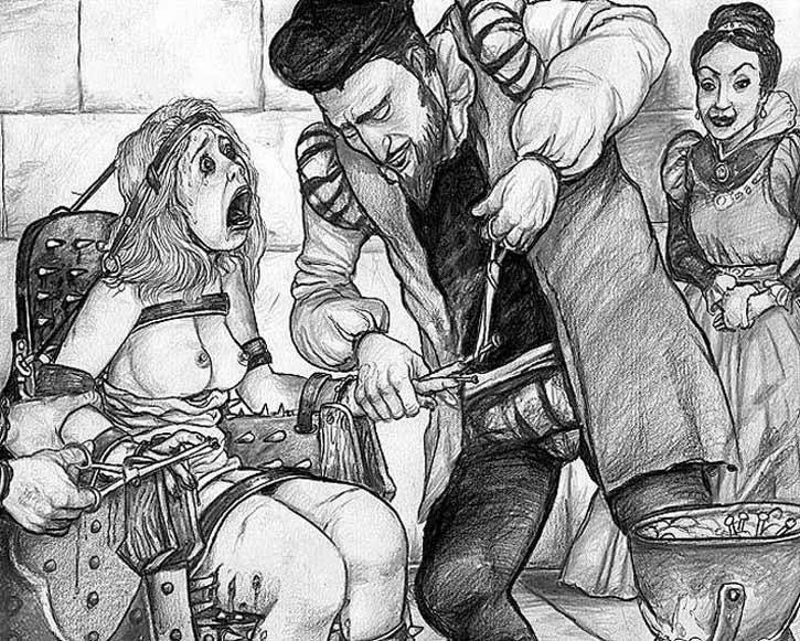 выступления порно в средневековье с переводом много спермы том